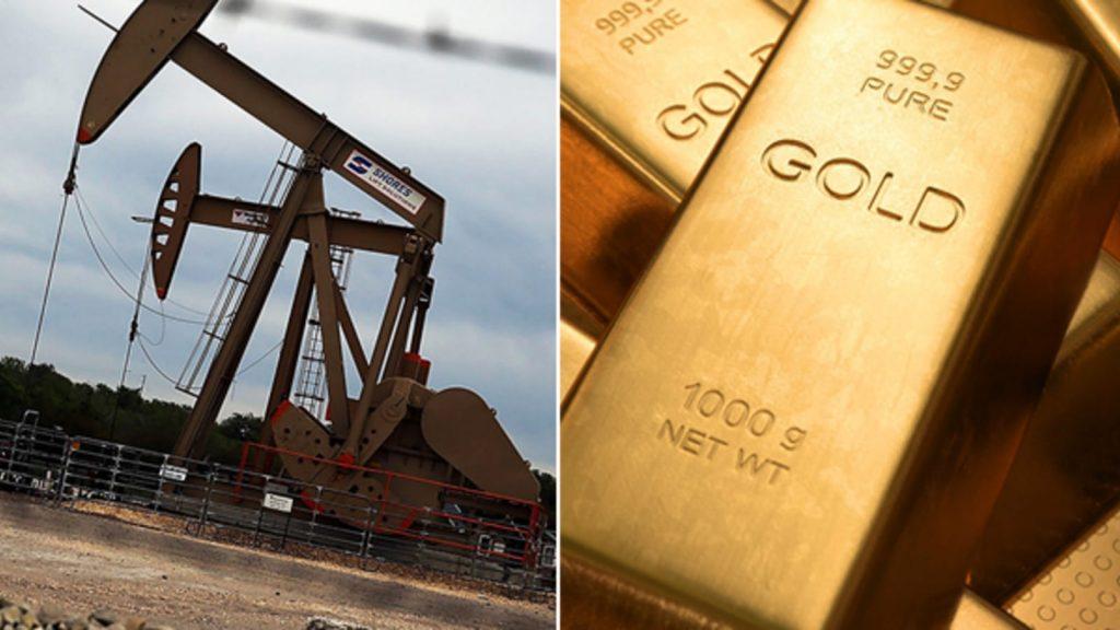 النفط والذهب