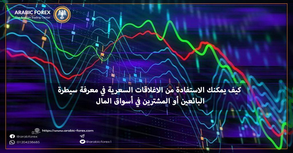 كيف يمكنك الاستفادة من الاغلاقات السعرية في معرفة سيطرة البائعين أو المشترين في أسواق المال